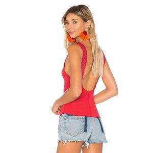 FLIPSIDE CAMI IN BRIGHT RED